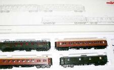 G12  Märklin   42757 Schnellzugwagen Set MITROPA 1925