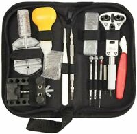 144 Pcs Watch Repair Kit Wrist watch Repairing Tools Set Spring Bar Tool Remover
