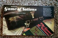 VINTAGE 1973 WADDINGTONS GAME OF NATIONS BOARD GAME COMPLETE NICE CONDITION RARE