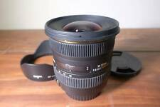 Sigma 10-20mm f/4-5.6 DC HSM