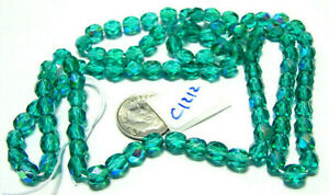 Czech Glass Misc. Faceted Beads YOUR CHOICE OF COLOR, SIZE, FINISH