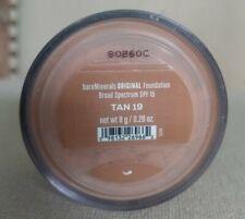 BareMinerals Original Foundation Spf 15 Loose Powder Tan 19 Full Size .28oz NEW