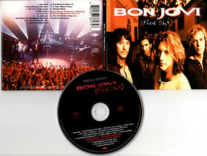 """BON JOVI """"These Days"""" (CD Digipack) Special Edition 2010"""
