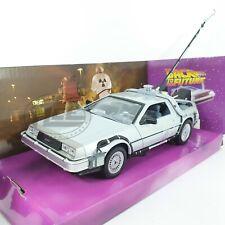 1/24 COCHE CAR DeLOREAN REGRESO AL FUTURO I BACK TO THE FUTURE WELLY