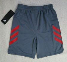 adidas Little Boys' Sport Grey Shorts - Size 6 - NWT - MSRP$26.00