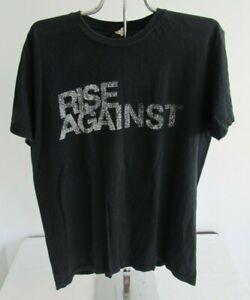 Rise Against 2011 Concert T-Shirt Size L Black Rock Tour
