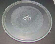 """12 3/4""""  Microwave Glass Replacement Turntable Plate. Dime fits center no feet"""