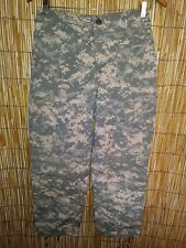 Camouflage Military ACU DIGITAL Cargo Fatigue BDU Pants ~~