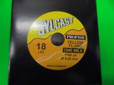 sylcast fishing line 1 mile spool (yellow)18lb