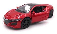 Maquette de Voiture Honda Nsx Hybride Sport Rouge Auto Échelle 1:3 4-39