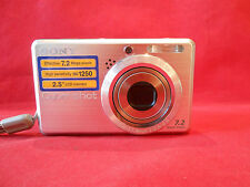Cámara digital Sony Cuber-Shot Óptico 3X f=5.8-17.4mm1:2.8-4.8 7,2Megapixel+Ta