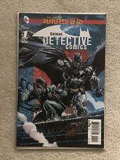 The New 52 Futures End Batman Detective Comics #1 signed Fabok