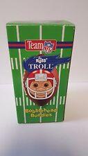 "HOUSTON OILERS BOBBLEHEAD TROLL - 9"" Russ Troll Doll - NEW IN PACKAGE - Rare"