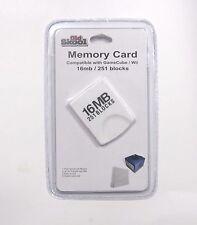 16 Mb (251 Blocks) Memory Card for Nintendo GameCube and Original Wii -Old Skool