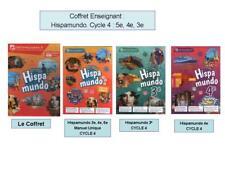 COFFRET Enseignant HispaMundo Cycle 4 : 5e 4e 3e HISPA MUNDO lelivrescolaire.fr