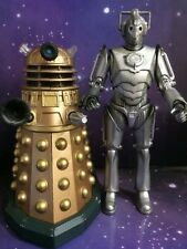DOCTOR WHO FIGURE CLASSIC ENEMIES DALEK & CYBUS CYBERMAN - 10th DR ERA DOOMSDAY