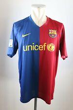 FC Barcelona Trikot Gr. L Nike Jersey 2008-2009 Home FCB Unicef