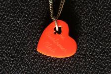 TATTY DEVINE ACE CHRISTMAS CLUB LOVE HEART NECKLACE CERISE PINK VINTAGE CLASSIC