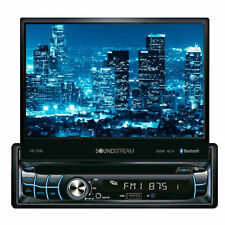 "NEW Soundstream 1 Din VR-720B DVD/CD Player Flip Up 7"" LCD Bluetooth SD USB AUX"