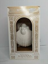Margaret Furlong Madonna Of The Flowers shell design 1997 series of 3 made Usa