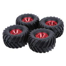 4 Stücke Monster Truck Red Klettern Big Foot Auto Gummireifen Reifen für