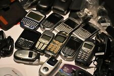 Older Cell Phone Lot - Blackberry - Nokia - Untested