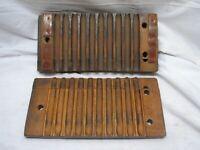 Antique Primitive Wooden 10 Cigar Mold Press Tobacco Factory Tool Tobacciana