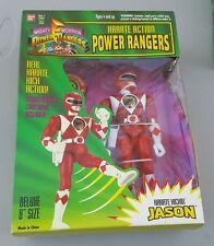 "1994 Power Rangers, Jason, NIB, Karate Action Kickin', 8"" BanDai, Mighty Morphin"