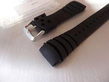 SEIKO original rubber strap 20mm for 7N36-0AF0 5M62-0BL0 7T92-0JG0 4R15-00D0