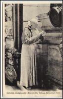 Kunst AK um 1920 Italien Genova Tomaso Serra Skulptur alte Postkarte