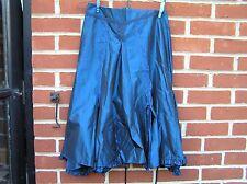 James Lakeland blue skirt Italian 16 lace evening split party