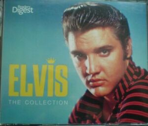 Elvis Presley-Elvis The Collection,2012,4 cd ,box set cd(Readers Digest)