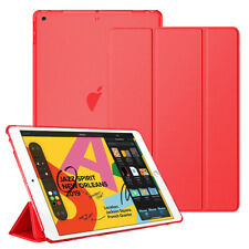 "For Apple iPad 7th Generation 10.2"" Slim Leather Flip Folio Stand Smart Case"