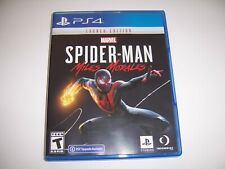 Replacement Authentic Box Case SPIDERMAN MILES MORALES PlayStation 4 PS4 NO DISC