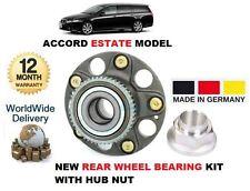 FOR HONDA ACCORD TOURER ESTATE MODEL 2003-2008 NEW 1X REAR WHEEL ABS BEARING KIT