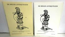 2 Versions 1.0 and 1.1 WRG Ancient Wargame Rules DE BELLIS ANTIQUITATIS op UK