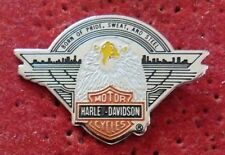 BEAU PIN'S AIGLE MOTO HARLEY DAVIDSON MOTOR CYCLES BORN OF PRIDE