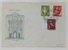 Ersttagsbrief  - FDC - ETB - DDR - Gemälde - Nr. 587 + 589 + 590