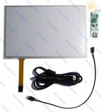 10.1inch resistive touch screen panel USB port controller kit for raspberry pi