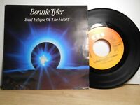 BONNIE TYLER TOTAL ECLIPSE OF THE HEART / TAKE ME BACK (1982) VINYLE 45 TOURS