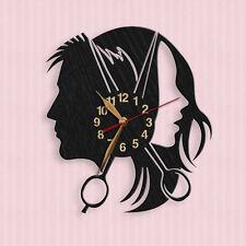 Beauty Salon Wood Wall Clock 12inch(30cm) Barber's Hair salon, Barbershop #68