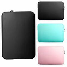 """11""""-15.6"""" Laptop Sleeve Case Bag Carrying Waterproof Netbook Protector PU Bag"""
