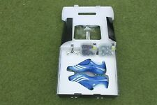 BNIB ADIDAS F50 Tunit FOOTBALL BOOTS UK 7.5 BLUE Hard/Soft Ground Not predator