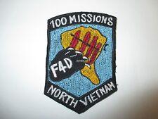 b4838 US Air Force Vietnam F4D Phantom 100 Missions North Vietnam IR21F