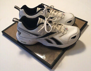 Oakland Raiders Reebok Vintage DMX Men's Shoes Size 8 1/2 Excellent Condition!