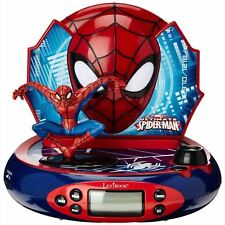 MARVEL ULTIMATE SPIDERMAN PROIETTORE Sveglia Radio NUOVO by Lexibook