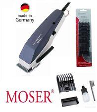 Moser Profi Haarschneidegerät EDITION 1400 blau +6 Aufsätze. Haarschneider 43115