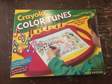 1994 Crayola Color Tunes Musical Coloring Toy With Box