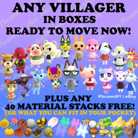 Animal Crossing Villager Move In Service-New Villagers Available