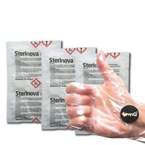 Rudergerät tabletten Puritabs Maxi Vorteilspack 3 Packungen + LevinQ Handschuhe